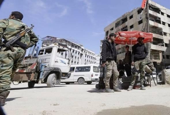 Rejim Bashar gempur saki-baki kumpulan pemberontak di Homs