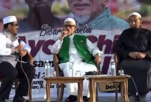 Niat jatuhkan Najib sebabkan Pas tolak Pakatan Harapan - Abdul Hadi