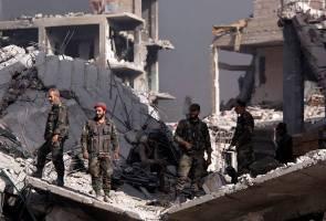 17 terbunuh pertempuran di Syria