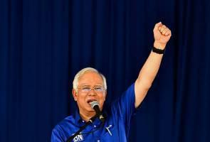 Berbaki 14 jam, Najib Razak kekal influencer utama Twitterjaya