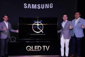 Samsung perkenal model TV QLED terkini untuk 2018