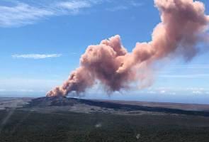 Gunung berapi Kilauea terus aktif, ribuan penduduk dipindahkan