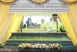 Tengku Abdullah lawat Makam Diraja sempena Hari Hol