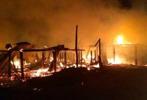 10 rumah musnah dalam dua kejadian kebakaran di Sabah