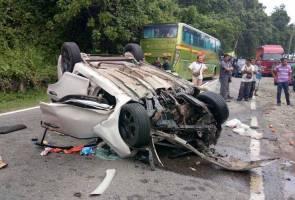 Empat maut dalam kemalangan di Ranau
