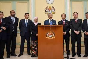 SPAD dibubarkan, tugas dikembalikan ke Kementerian Pengangkutan - Tun M