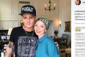 Tampil kurus dan pucat, peminat risaukan Johnny Depp