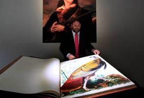 Buku ilustrasi tentang burung berjaya dilelong pada harga RM38.4 juta