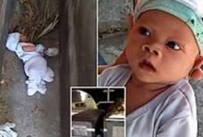 Ibu buang bayi celah kubur di Filipina