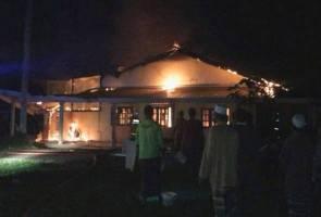 Remaja 13 tahun terselamat dari terbakar hidup-hidup