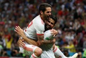 Diego Costa wira Sepanyol mengatasi Iran