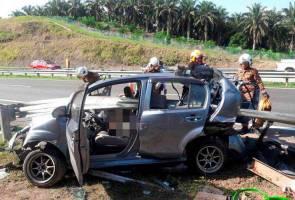 Empat termasuk tiga wanita maut kemalangan di LPT