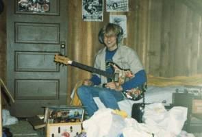 Barangan peribadi Kurt Cobain akan dipamerkan di Ireland