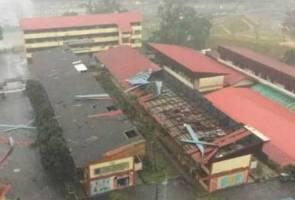 Hujan lebat, angin kencang jejaskan beberapa kawasan di ibu negara