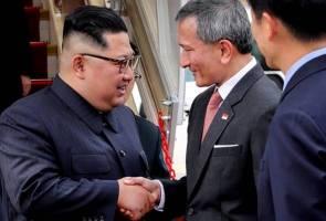 Kim Jong Un tiba di Singapura untuk sidang kemuncak bersejarah