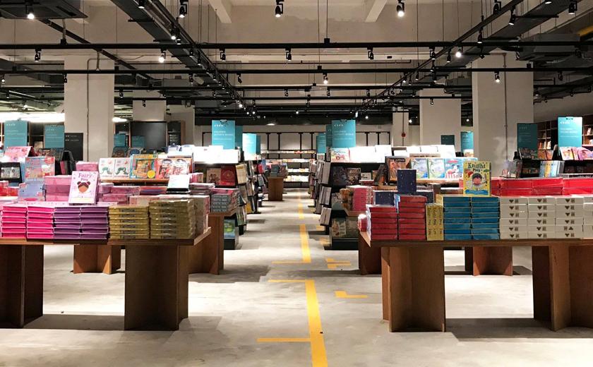 BookXcess Tamarind Square meliputi kawasan seluas 37,000 kaki persegi. - Facebook/BookXcess