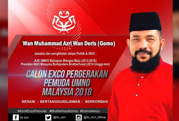 Papagomo mahu tanding EXCO Pemuda UMNO