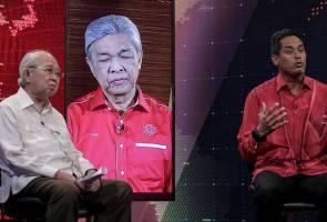 Debat AWANI: Khairy Jamaluddin mendahalui undian di media sosial