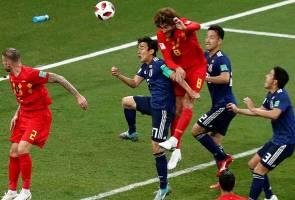 Belgium bangkit untuk mengatasi Jepun 3-2