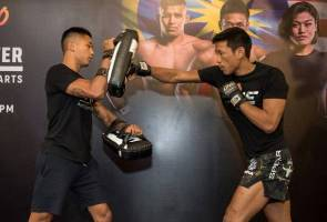 MMA: ONE Championship holds open workout ahead of KL fight night