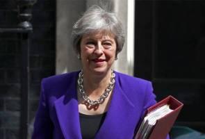 May pertahan strategi Brexit