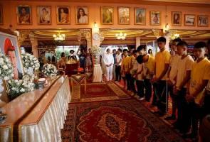 Remaja terperangkap Gua Tham Luang hadir majlis kesyukuran