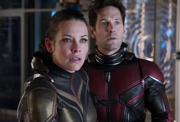 Adegan cemas dalam babak filem Ant-Man and The Wasp. -Foto Youtube Marvel Entertainment | Astro Awani