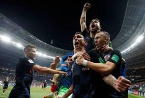 Croatia lakar sejarah mara ke final Piala Dunia FIFA
