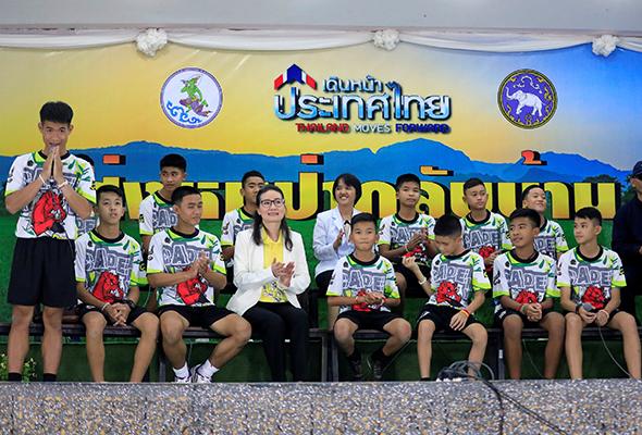 'Saat penyelamat muncul seperti magis' remaja terperangkap dalam Gua Tham Luang