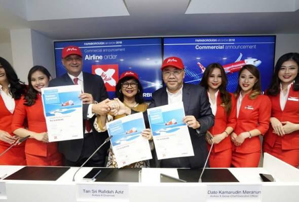AirAsia X menambah tempahan pesawat terbaru Airbus A330neo, dengan 34 buah pesawat tambahan. Ini berikutan 66 buah pesawat tempahan lalu.
