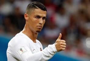 Juventus jual 520,000 helai jersi Ronaldo dalam 24 jam