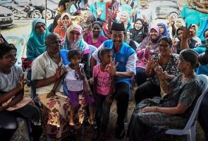 Calon PKR yakin 'sapu bersih' undi kaum India di Sungai Kandis
