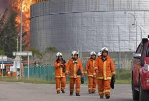 Operasi pemadaman kebakaran KBC tamat