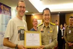Hero Tham Luang dapat penerbangan percuma seumur hidup