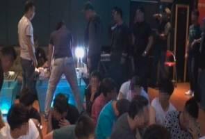 Tujuh remaja 'lalok' dadah ditahan di pusat hiburan
