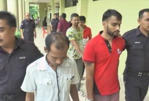 Dua lelaki warga asing didakwa bunuh pemandu Grab