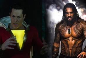 Trailer filem Aquaman, Shazam dipertonton sempena Comic Con