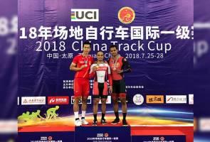 Azizulhasni raih emas kedua Piala Trek China