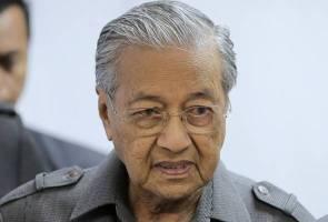 Jadikan semangat juang Chong Wei sebagai inspirasi - Dr Mahathir