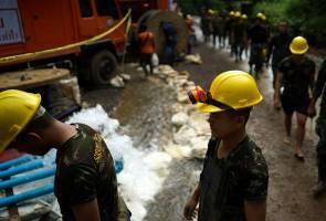 Kronologi remaja Thailand sesat di gua