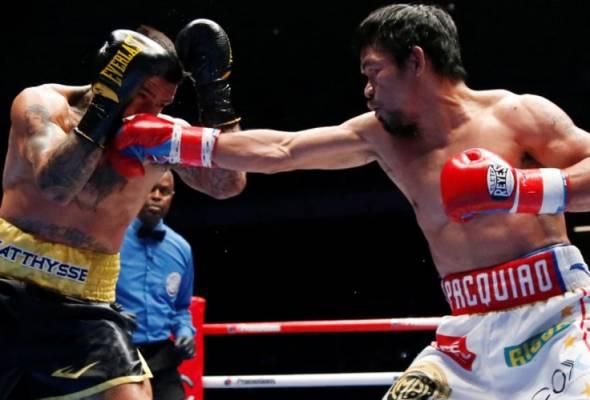 Pacquiao kembali untuk merampas gelaran tersebut dari juara bertahan kelahiran Argentina itu selepas hampir setahun tidak beraksi.