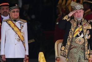 Agong rasmi pembukaan Sidang Parlimen ke-14