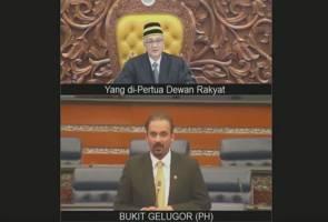 Ramkarpal MP pertama diarah keluar Dewan