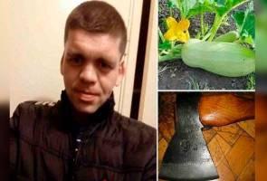 Padah curang, mayat bekas suami jadi baja kebun sayur