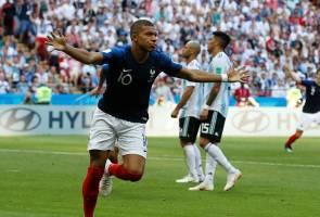 Pele ucap tahniah kepada Mbappe