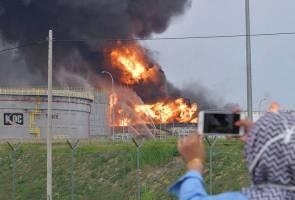 Api dua tangki minyak mentah KBC berjaya dipadamkan