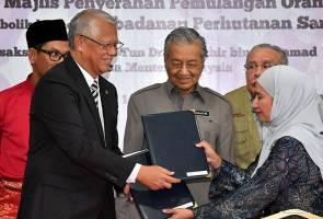 Masyarakat bertamadun perlu  prihatin terhadap manusia, haiwan - Tun Mahathir