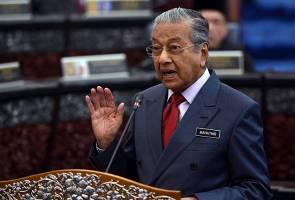 """""""Itu semua sandiwara"""" kata Tun Mahathir"""