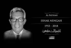 Bekas personaliti TV, Ishak Nengah meninggal dunia