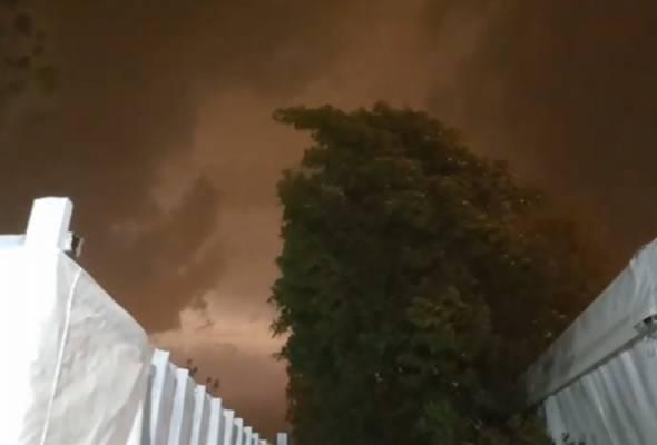 Hujan ribut landa Arafah, khemah jemaah alami kerosakan kecil